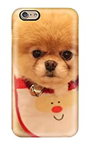 Hot Case Cover Protector Specially Made For Iphone 6 Cute Dog Christmas