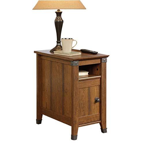 Sauder Carson Forge Side Table, Washington Cherry finish (Furniture Forge Old)