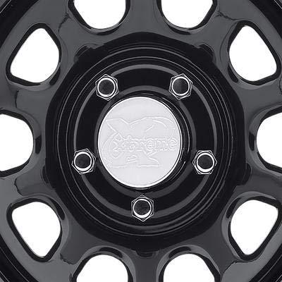 Pro Comp Steel Wheels Series 51 Wheel with Gloss Black Finish (15x8''/5x5.5'') by Pro Comp Steel Wheels (Image #2)