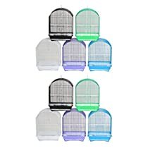YML Lot of 10 Dome Top Parakeet Cage, Medium