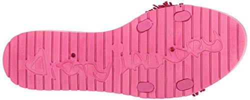 Smutstvätt Genom Kinesisk Tvätt Kvinna Paseo Gelé Glid Sandal Fuchsia Pvc