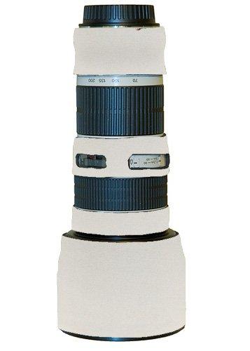 LensCoat LC702004NISCW Canon 70-200 f/4 NON IS Lens Cover (Canon White)