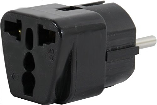 US to PARIS in FRANCE Travel Adapter Plug for USA/Universal