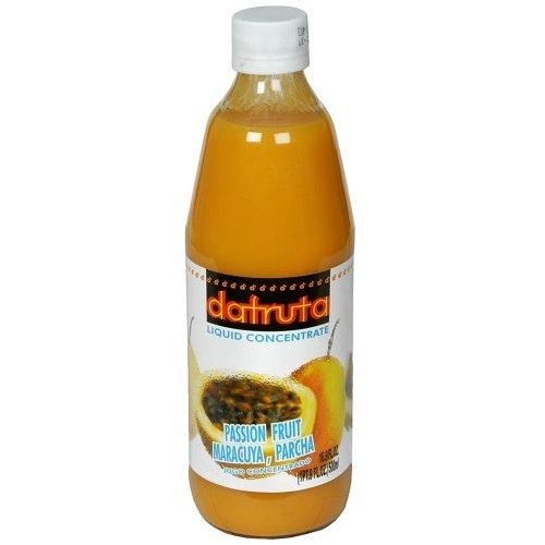 t Juice Concentrate - 16.9 FL.Oz | Suco Concentrado de Maracujá Dafruta - 500ml - (PACK OF 04) (Passion Fruit Juice Concentrate)