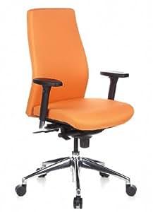 HJH Office SKAVE 200 - Silla de oficina, color naranja
