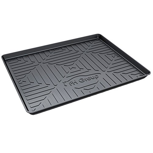 "FH Group F16407-40 Premium Multi-Use Car SUV and Garage Trunk Mat Cargo Tray, 40"" x 32"", Black"