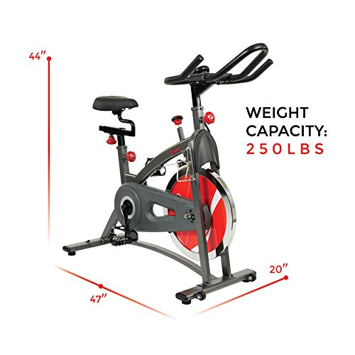 Sunny Health & Fitness Belt Drive Indoor Cycling Bike SF-B1423 by Sunny Health & Fitness (Image #17)