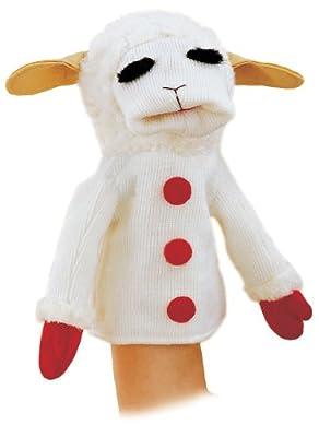 "Aurora Plush 12"" Lamb Chop (Hand Puppet)"