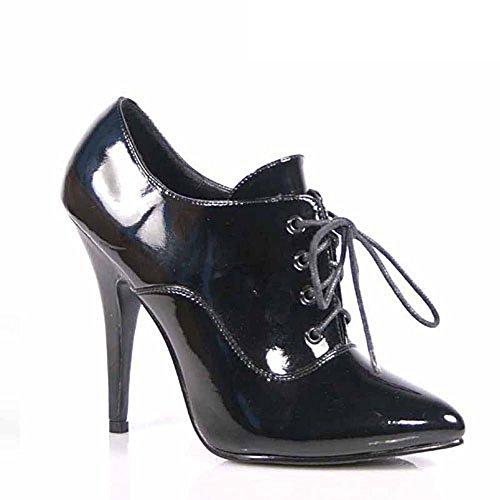 Heels-Perfect - Zapatos de vestir de material sintético para mujer negro negro negro - Schwarz (Lack Schwarz)