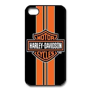 iphone4 4s Phone Case Black Harley Davidson IH4478364
