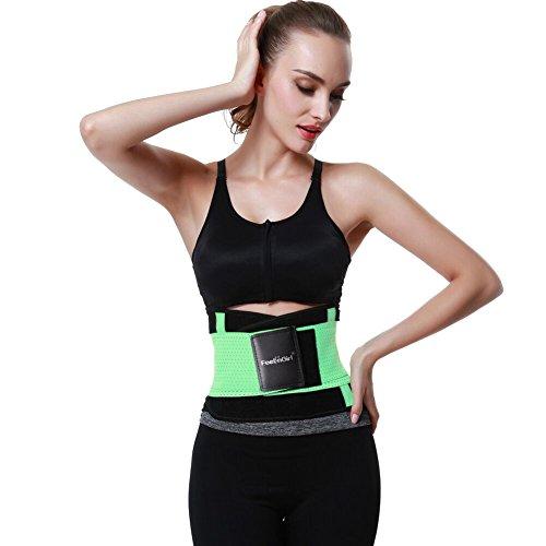 FeelinGirl Damen Waist Cinchr Traning Sport Belt Fitness Slimming Girdle Gurte Gün uHku7