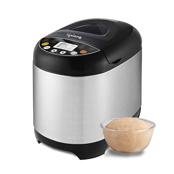 Lifelong Atta and Bread Maker 550 Watt (19 Pre-Set Menu with Adjustable Crust Control) 1