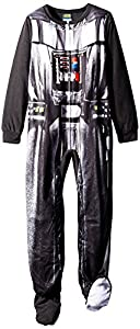 Star Wars Little Boys Big Boys Darth Vader Footed Blanket Sleeper
