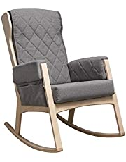 Dutailier MARGOT Rocking Chair with Washable Cushion Covers