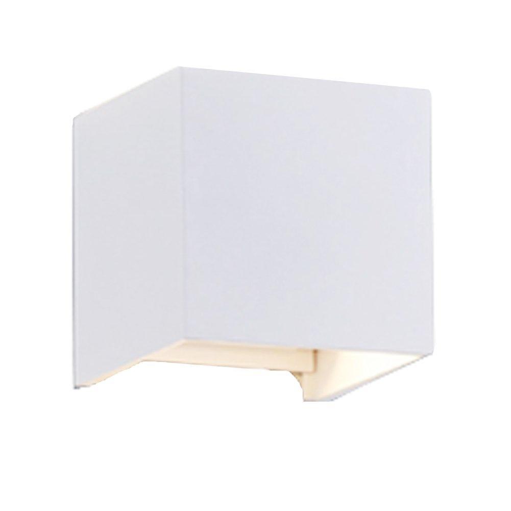 7W Dimmer Aluminium Wasserdicht Wandleuchte, Midore 85-265V 3000K Einstellbare 2 LED für Innen und Außen Warmweiß Leuchtet Midore Direct Dimmer 7W Wandlampe