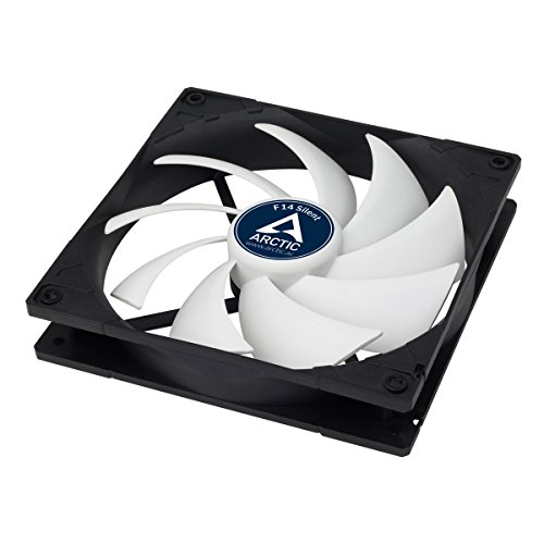 Arctic F14 Silent - Ultra-Quiet 140 mm Case Fan | Silent Cooler with Standard Case | Almost inaudible | Push- or Pull Configuration Possible by ARCTIC (Image #4)