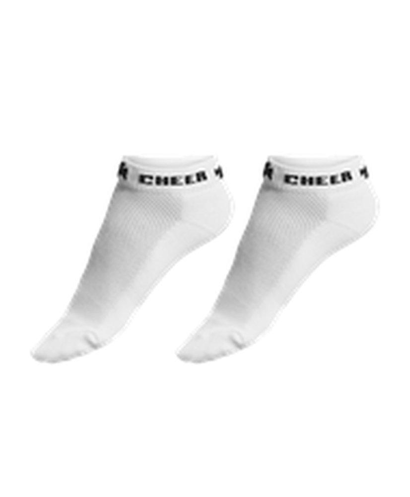 AllesonチアリーダーマイクロファイバーMega Cheer Sock csoxm B073PDNQ4Tブラック Large