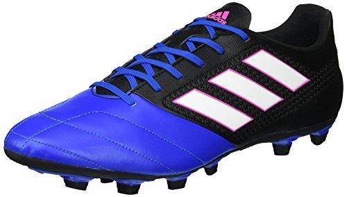 adidas Ace 17.4 Fxg, Botas de Fútbol para Hombre Negro (Cblack/ftw White/blue)