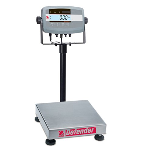 Standard Bench Scales - Ohaus D51P25QR1 Defender 5000 Standard Square Precision Bench Scale
