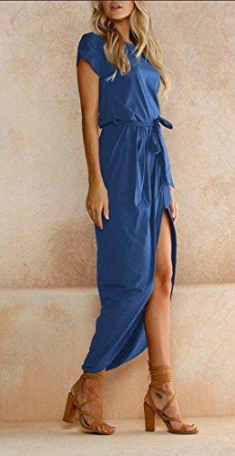 Short Women's Jaycargogo Neck Crew Tunic 2 Dress Sleeve fT6qxw6A