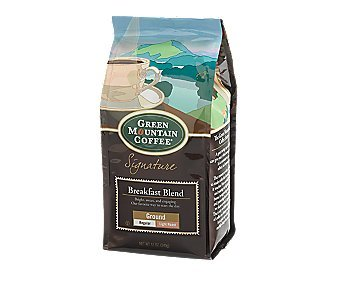 Green Mountain Breakfast Blend, 12oz. bag, Ground Coffee (Pack of 2)