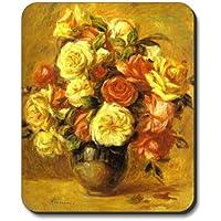 Renoir - Bouquet de roses - Art Plates brand Mouse Pad
