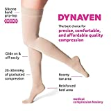SIGVARIS Women's DYNAVEN Closed Toe Thigh-Highs