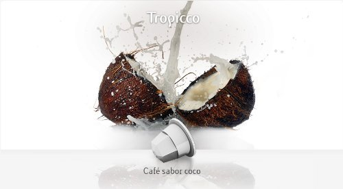 TÚ ESPRESSO for the ORIGINAL Nespresso system Capsules - ARABICA & COCONUT - 10 caps / sleeve - 160 caps COUNT by Unknown