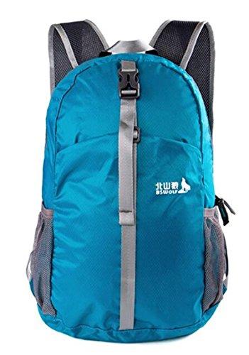 borse alpinismo esterno zaino ultraleggero tracolla pieghevole esterno di campeggio zaino da viaggio ( colore : 2# , dimensioni : 20-35L )