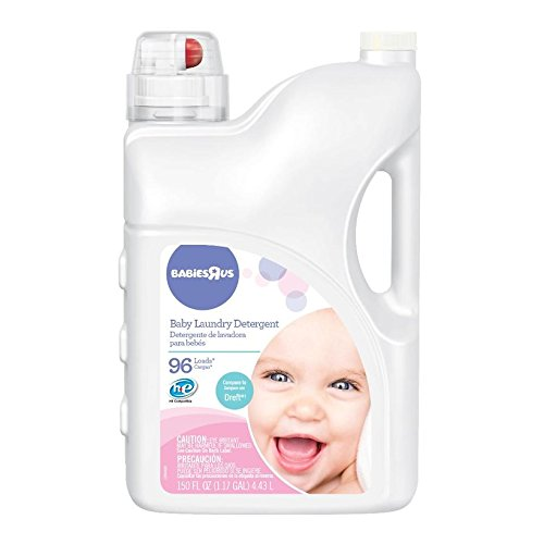 Babies R Us High Efficiency Laundry Detergent 150 Ounce (96 Loads) (Compares to Dreft)