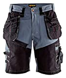 Blaklader 150213709499C46 X1500 Craftman-Shorts, Size 32/32, Grey/Black