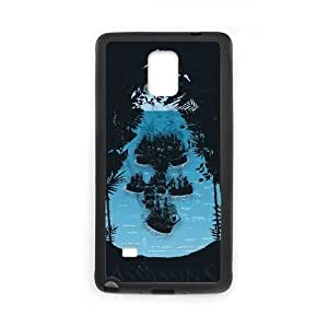 Assassins Creed Black Flag Samsung Galaxy Note 4 Cell Phone Case Black PhoneAccessory LSX_898546