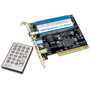 TYPHOON TV/FM CAPTURE PCI CARD 64Bit