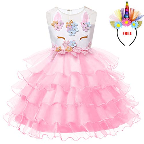 947466b7e LEMONBABY My Little Pony Sleeveless Princess Birthday Party Dress - Buy  Online in UAE. | Apparel Products in the UAE - See Prices, Reviews and Free  Delivery ...