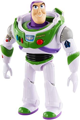 Mattel- Disney Toy Story 4-Figura con Voces y Sonidos Buzz Lightyear, Juguetes ninos +3 anos GGT32, Multicolor