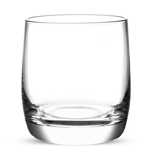 Crystal Whiskey Glasses Set of 2 Premium Large 11 oz, Handmade by Lead-free Crystal Excellent for Any Occasion by BEARGOAL