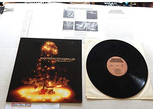 Mannheim Steamroller CHRISTMAS - American Gramaphone Records 1984 - USED Vinyl LP Record - 1984 Pressing AG 1984 WITH RARE INSERT - Coventry Carol - Wassail - Christmas Sweet - ()