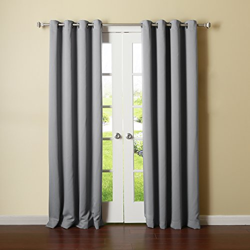 Blackout Curtains blackout curtains 90×90 : Grey curtains 90x90 - StoreIadore