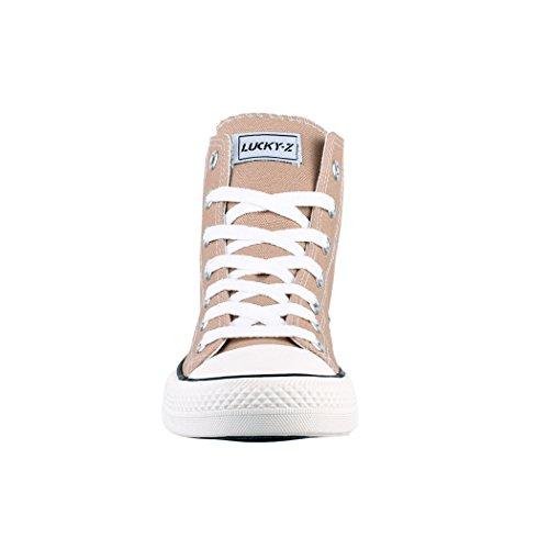 Donna Scarpe Scarpe High Uomo Sneakers Tessile Sport 36 Elara Sneaker Top nbsp; Per Unisex qSYBU