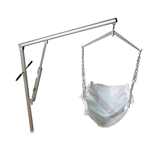(Classic Pool Lift- Includes Bonus Sling - 360 Degree Swivel, Extension Arm, Hydraulic Power, 400 lbs Weight Capacity)