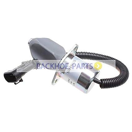 Amazon com: 12V Diesel Shutoff Solenoid Valve 7136559
