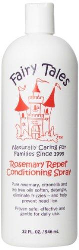 Contes de fées Tous naturelles, de soins capillaires bio pour les enfants Rosemary Repel Laissez-in conditionné Spray, 32 once