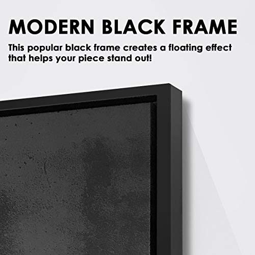 """IKONICK Soup of The Day (Special Edition) Canvas Art - 18"""" x 24"""".75"""" Depth Modern Black"""