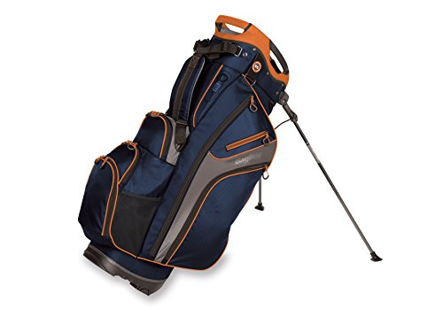 Bag Boy Golf Chiller Hybrid Stand Bag (Navy/Charcoal/Orange)