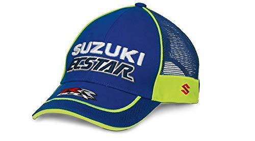 Suzuki ECSTAR Moto Gp Trucker Style Hat Blue 990F0-MCP2
