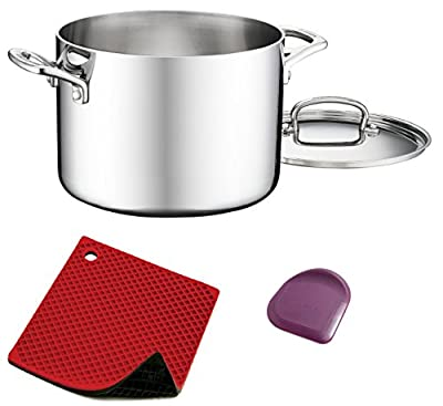 Cuisinart FCT66-22 French Classic 6-Quart Stockpot with Cover 3 Pack