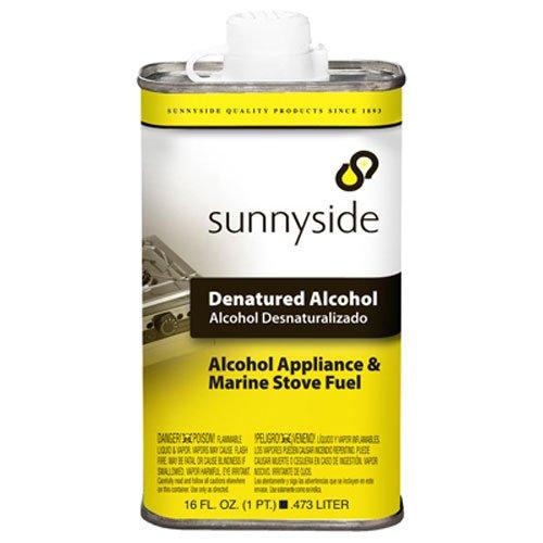 SUNNYSIDE CORPORATION 83416 1 Pint Denatured Alcohol Solvent