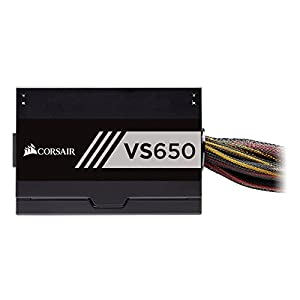 Corsair VS Series VS650 650 W Active PFC 80 Plus White Certified Power Supply (CP-9020172-NA)