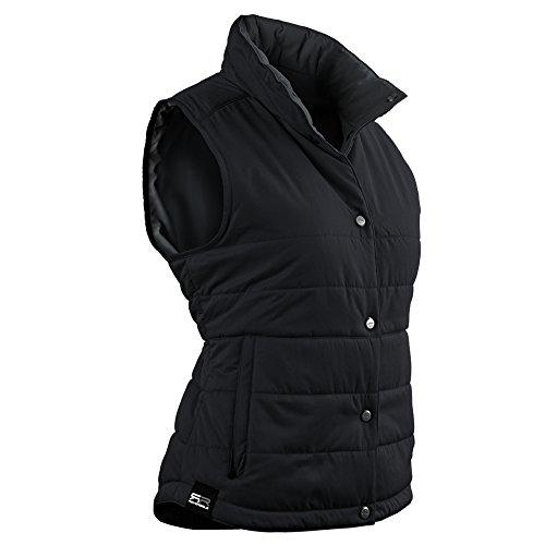 Sun Mountain Alpine Golf Vest 2016 Ladies Black/Steel Large by Sun Mountain (Image #1)