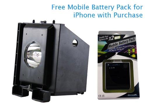 Replacement TV Lamp for Samsung HL-P5063WX/XAA 120 Watt